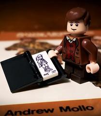 Andrew Mollo - Uniform Historian (brickhistorian) Tags: brick bricks uniform history historian custom customs lego legos minifig minifigure military britain brit british two world war ww2 wwii