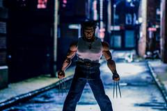 Logan (Stealknight) Tags: mezco marvel xmen wolverine logan articulatedcomicbookart acba toys