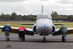 XM424/G-BWDS Hunting Percival Jet Provost T.3A (amisbk196) Tags: airfield aircraft aviation flickr amis essex jetfest northweald 2019 uk unitedkingdom xm424gbwds hunting percival jet provost t3a xm424 gbwds