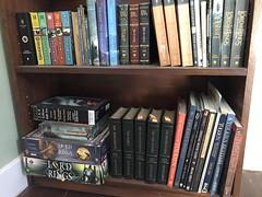 Tolkien shelfie (artnoose) Tags: silmarillion hobbit shelfie shelves books shelf book tolkien lotr