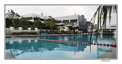 the papandayan pool (harrypwt) Tags: harrypwt smartphone huaweip20pro p20pro bandung indonesia city borders framed reflections hotel