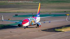 """N280WN """"Missouri One"""" Boeing 737-7H4 Southwest (SamCom) Tags: kdal lovefield dal n280wn missourione boeing 7377h4 southwest"""
