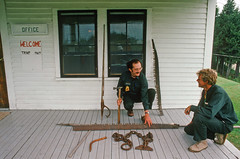 00538_s_18anq7p4le0538 (Charles L. Sommers Alumni Association) Tags: human person flooring wood floor hardwood plywood porch boyscoutsofamerica mainenationalhighadventurearea mainenationalhighadventure maine highadventure mnhaa mnhaapersonnel personnel mainehighadventure