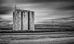 Six Pack | The Palouse (sunrisesoup) Tags: palouse thepalouse colfax silo bw longexposure sony wide farm