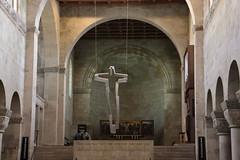 Altarkreuz und Hochchor (julia_HalleFotoFan) Tags: quedlinburg stiftskirche stiftskirchestservatii altarkreuz thomasleu