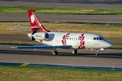 N886CE Dassault Falcon 2000EX (SamCom) Tags: kdal lovefield dal n886ce dassault falcon 2000ex