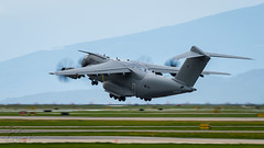 ZM418 - Royal Air Force - Airbus A400M-180 (bcavpics) Tags: canada vancouver airplane britishcolumbia aviation royalairforce zm418 plane uk aircraft military transport airbus raf cyvr a400m yvr bcpics