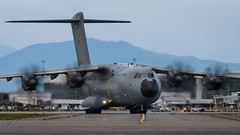 ZM418 - Royal Air Force - Airbus A400M-180 (bcavpics) Tags: canada vancouver airplane britishcolumbia aviation royalairforce zm418 plane uk aircraft airbus raf a400m military transport yvr cyvr bcpics