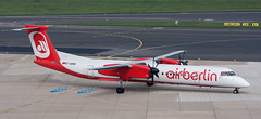 DHC-8 | D-ABQB | DUS | 20090430 (Wally.H) Tags: bombardier dehavillandcanada dhc8 dash8 dabqb airberlin dus eddl dusseldorf airport