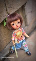 My girl ❤️ (♥..Nomyens..♥) Tags: bjd balljointdoll toy doll custom faceup paint painting painted repaint handmade nomyens nomyenscom latidoll latiyellow lea tinydoll