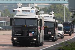 "Mercedes - Benz, Water Canon truck, ""Hong Kong Police Force"", Hong Kong (Daryl Chapman Photography) Tags: am9895 hongkongpolice hongkong china sar canon 5d mkiv 100400l truck mercedes benz am9897 ptu"