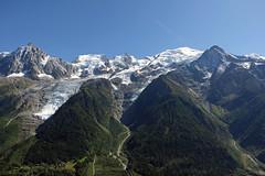 Massif du Mont-Blanc (bernarddelefosse) Tags: montblanc leshouches hautesavoie rhônealpes france alpes montagnes paysage