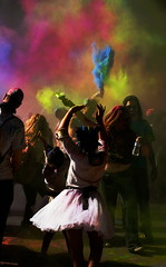 Holi, Festival of Colors (sonstroem) Tags: holi colorful colors festivalofcolors bright street fair holiday