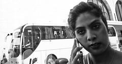 Look into my eyes, not around the eyes. (Baz 120) Tags: candid candidstreet candidportrait city contrast street streetphoto streetcandid streetportrait strangers rome roma ricohgrii europe women monochrome monotone mono noiretblanc bw blackandwhite urban life portrait people provoke italy italia girl grittystreetphotography faces decisivemoment