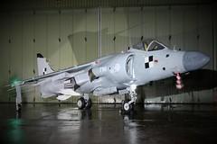 BAe Sea Harrier F/A2 (Matt Sudol) Tags: south wales aviation museum nightshoot photography photoshoot thresholdaero threshold bae sea harrier fa2