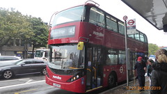 P1180170 BDE2646 LJ19 CVW at Angel Station Upper Street Islington London (LJ61 GXN (was LK60 HPJ)) Tags: metroline byd enviro400city enviro400evcity enviro400ev e400ev electric 109m 10900mm bde2646 lj19cvw j42821