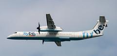DHC-8 | G-JECO | DUS | 20090430 (Wally.H) Tags: bombardier dehavillandcanada dhc8 dash8 gjeco flybe dus eddl dusseldorf airport
