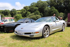 Chevrolet Corvette Coupe WV51BLX (Andrew 2.8i) Tags: show automobile auto voiture cars car classics classic carmarthenshire arms bronwydd day transport railway gwili american coupe c5 sports sportscar v8 muscle gm generalmotors vette chevy corvette chevrolet wv51blx