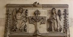 St Gabriel Annunciate (Lawrence OP) Tags: annunciation biblical archangels blessedvirginmary stgabriel paris museum louvre