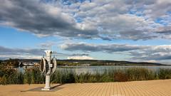 (zedspics) Tags: keszthely balaton hungary hongarije magyarország port pier landscape lakescape zedspics 1909 autumn fall cloudy