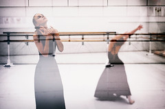 passion . (helmet13) Tags: leicaxvario people dancer ballet barre dance balletdancer mirror reflection movement women passion peaceaward aoi world100f flickrheroes
