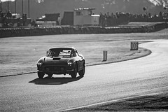 Goodwood Revival 2019 (Velosnapper) Tags: motorsport race car auto ferrari nikon tamron goodwood revival bw blackandwhite 250swb 250 sunset track blackwhite