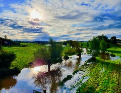 Flooded fields (Ugborough Exile) Tags: stafford staffordshire midlands england uk s10 2019