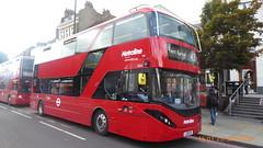 P1180180 BDE2645 LJ19 CVV at Angel Station Upper Street Islington London (LJ61 GXN (was LK60 HPJ)) Tags: metroline byd enviro400city enviro400evcity enviro400ev e400ev electric 109m 10900mm bde2645 lj19cvv j42820