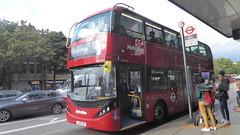 P1180177 BDE2635 LJ19 CVK at Angel Station Upper Street Islington London (LJ61 GXN (was LK60 HPJ)) Tags: metroline byd enviro400city enviro400evcity enviro400ev e400ev electric 109m 10900mm bde2635 lj19cvk j42810