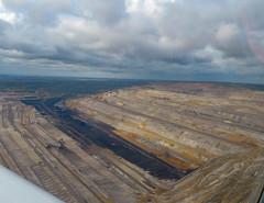 RWE Braunkohle-Tagebau Hambach (Clemens Vasters) Tags: germany deutschland nrw fossil energy mine mining pollution coal co2 fossilfuel lignite brankohle climateagent hambachrwepower aviation rheinland