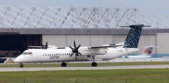 DHC-8 | C-GKQB | YUL | 20120608 (Wally.H) Tags: bombardier dehavillandcanada dhc8 dash8 cgkqb 822 porterairlines yul cyul montréal pierreelliotttrudeau airport
