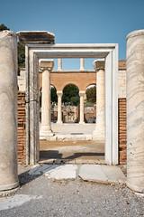 Through the gates (faktor1komma5) Tags: faktor1komma5 saintjohn selçuk turkey history ruins basilica gates columns architecture ancient traveldestinations