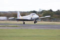 XM424/G-BWDS Hunting Percival Jet Provost T.3A (amisbk196) Tags: airfield aircraft aviation amis essex jetfest northweald 2019 uk unitedkingdom xm424 gbwds hunting percival jet provost t3a