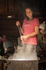 Phany in Battambang-1 Making Soy Milk