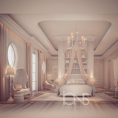 Bedroom Interior Design in Light Coral Theme (IONS DESIGN) Tags: homes mansion luxury lifestyle architecture realestate luxuryrealestate luxuryhome designinspiration decor design interior interiors interiordecor interiordecorating interiordesign