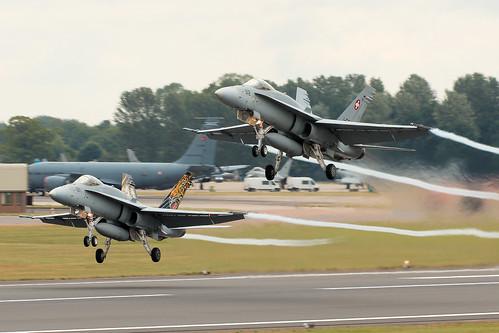 F/A-18 Hornets RIAT 2019