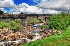 Derrintin IR - Glenacolly Bridge 01 (Daniel Mennerich) Tags: glenacollybridge rivererriff canon dslr eos hdr hdri spiegelreflexkamera slr ireland eire irland éire irlande ирландия irlanda