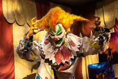Don't Listen to the Clown (Thomas Hawk) Tags: america florida orlando usa unitedstates unitedstatesofamerica universal universalorlandoresort universalstudios universalstudiosflorida universalstudiosorlando clown fav10 fav25