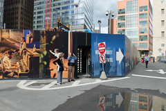There's a shot there somewhere. (ho_hokus) Tags: 2019 fujix20 fujifilmx20 manhattan nyc newyorkcity worldtradecenter mural photographer refelction streetphotography