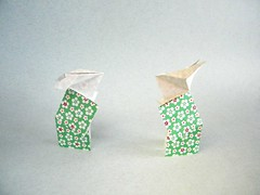 Lapins en Kimono - Viviane Berty (Rui.Roda) Tags: origami papiroflexia papierfalten rabbit bunny conejo lapins en kimono viviane berty