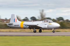 XM424/G-BWDS Hunting Percival Jet Provost T.3A (amisbk196) Tags: airfield aircraft aviation flickr amis essex jetfest northweald 2019 uk unitedkingdom xm424 gbwds hunting percival jet provost t3a
