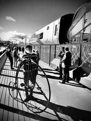 Bicycle Race (sjpowermac) Tags: bicycle race heritage scarboroughbridge 68025 superb crowds cycling opening transpennine express nova3