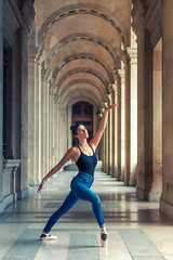 Ballerina Girl (sdupimages) Tags: art composition parisian parisienne woman girl shooting ballerine ballerina dancer dance portrait danseuse