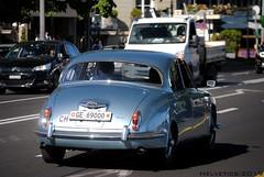 Jaguar Mark II - Switzerland, Geneva (Helvetics_VS) Tags: licenseplate switzerland geneva oldcars jaguar markii