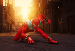 Hot Toys Spider-Man PS4 (Scarlet Spider) (dorklordcollectibles) Tags: hottoys actionfigure toy onesixth onesixthscale toyphotography sonya6000 a6000 spiderman marvel peterparker insomniacgames scarletspider