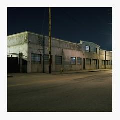 MInimal (ADMurr) Tags: la eastside industrial clear night warehouse hasselblad 500cm 50mm cz zeiss distagon kodak ektar mf 6x6 dba765