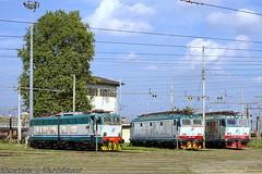 E655-652-633_Milano_28set19 (treni_e_dintorni) Tags: e655 e633 e652 cargo mercitalia milanosmistamento züge trenidintorni treniedintorni treni train zuge deposito