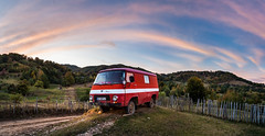 BZ98PLY (dorinser) Tags: sky sunset colours autumn van romania