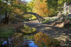 Giannena's bridge (kzappaster) Tags: bridge stonebridge sony sonya7iii a7iii a7m3 24105mm fe24105mmf4goss river reflection mirrorless autumn fall elassona larissa thessaly greece giannenasbridge sonya7m3