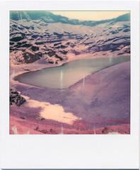 Lanzarote XIII (Ulla M.) Tags: lagoverde analog polaroid lanzarote instant analogue analogphotography pola elgolfo instantfilm sofortbild umphotoart polaroidoriginals